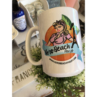 Vero Beach Pin Up Coffee Mug