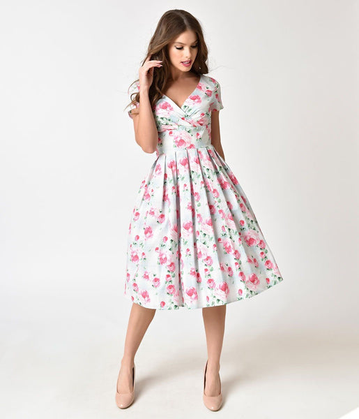 Hell Bunny Natalie Dress Vintage Style