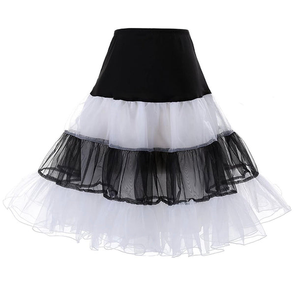 Petticoat Black & White