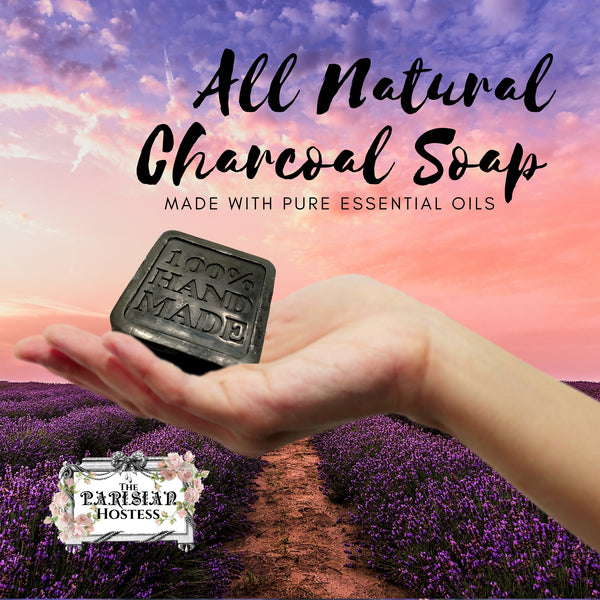 All Natural Charcoal Facial Soap