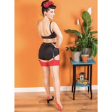 Seamed Stockings Red Glamour