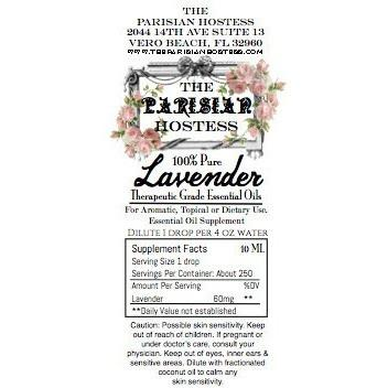 Lavender- Certified Therapeutic Grade Essential Oil 10 ML