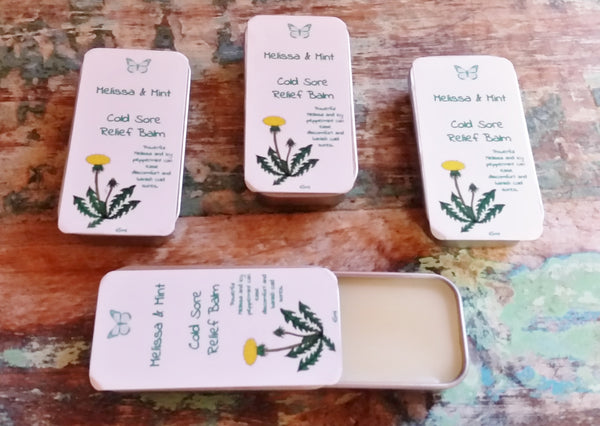 Melissa & Mint Cold Sore Relief Balm