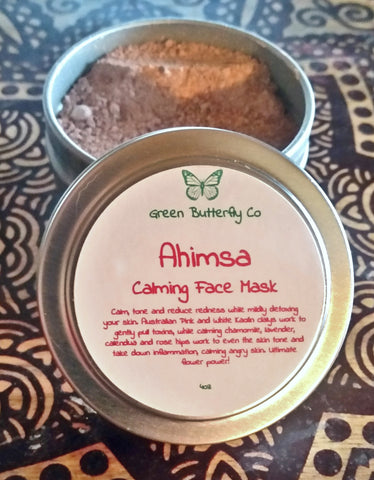 Ahimsa Calming Face Mask