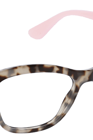 Peepers Pebble Cove Gray Tortoise Pink Reading Sunglasses