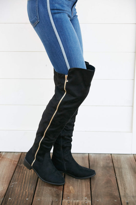 London's Calling Boot In Black