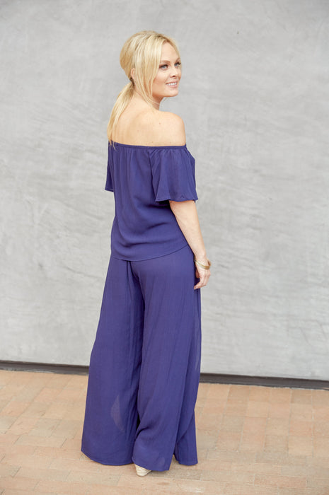 Blue Skies Jumpsuit Navy
