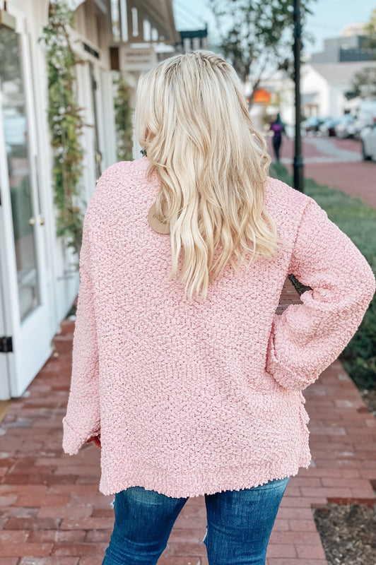 Saturdays and  Spritzers Sweater Blush