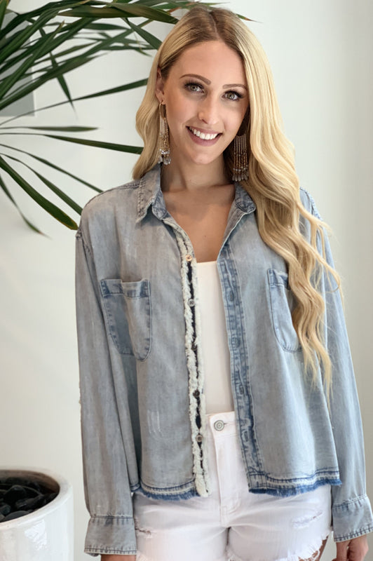 Denim Doll Blouse