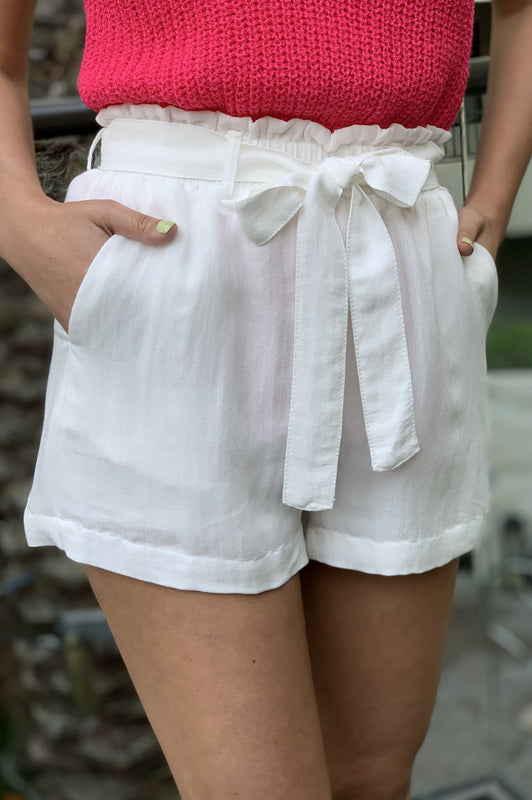 LA Perfection Shorts White