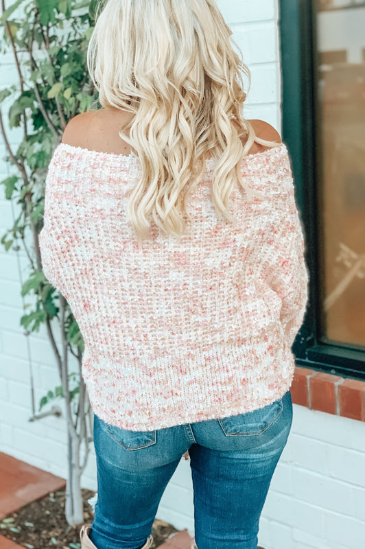 Weekend Lovin' Sweater Pink