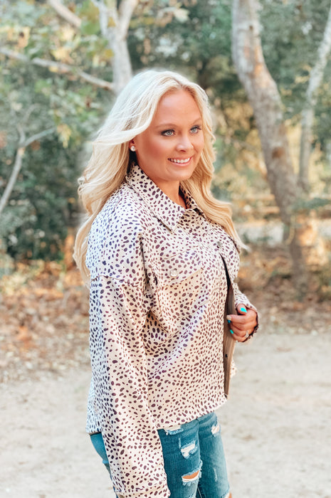 Malibu Weekend Cheetah Jacket