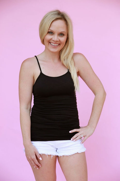 Beverly Hills Afternoon Camisole Black