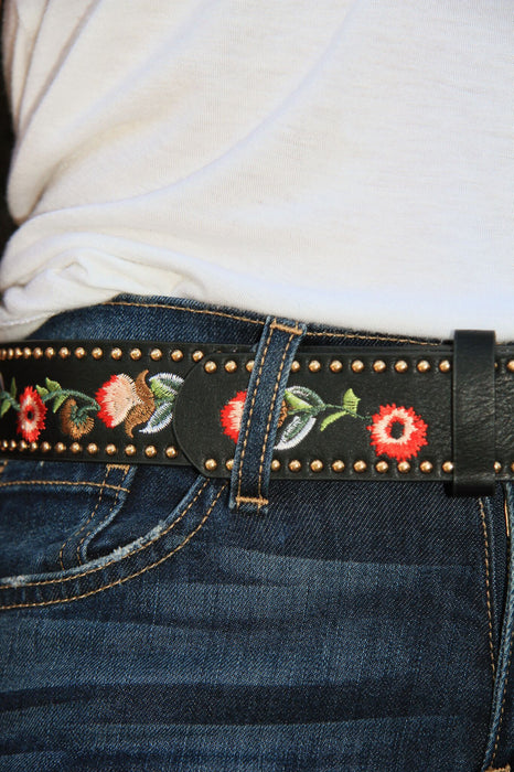 Leather and Romance Belt