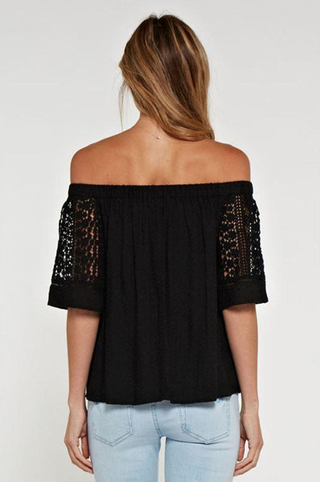 Perfect Weekend Off The Shoulder Top