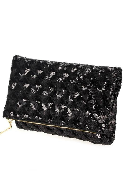 Vegas Clutch Black