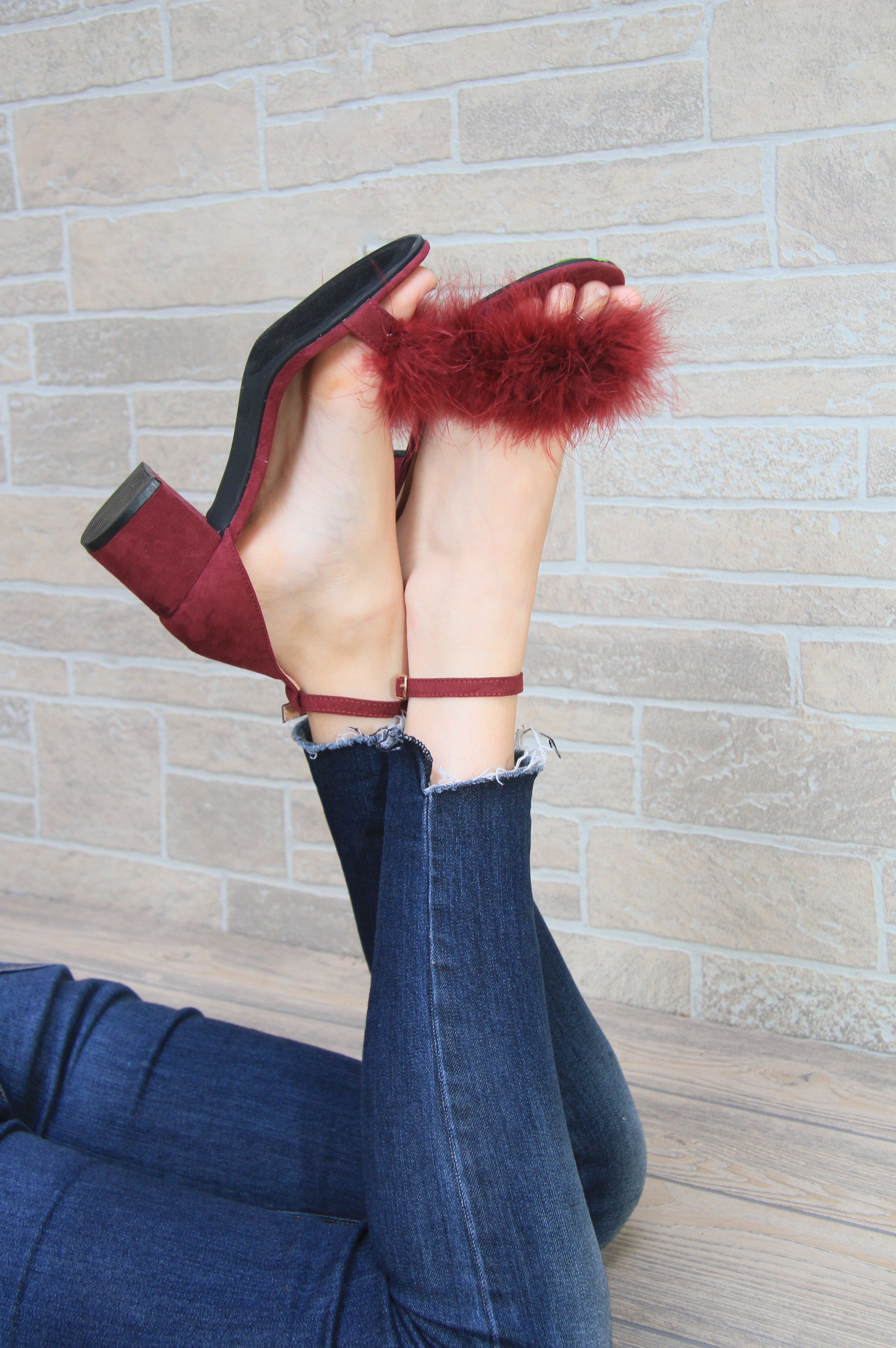 Bordeaux Sweetheart Shoes