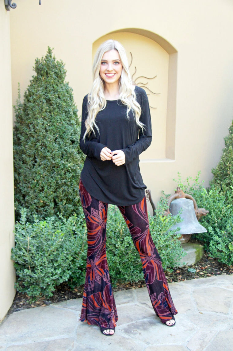 Free People Merlot Pants