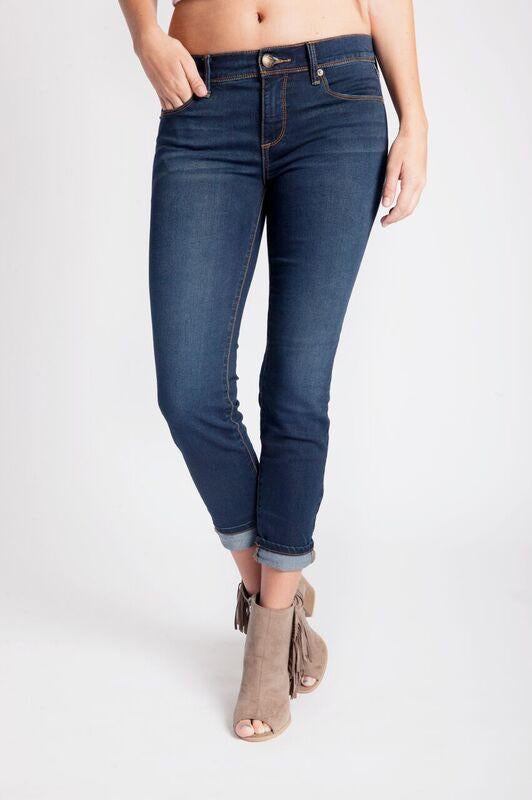 Roller Crop Denim by Free People