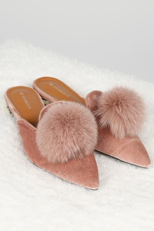 Puff Ball Princess Shoes Pink