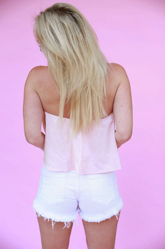 What A Babe Top Pink