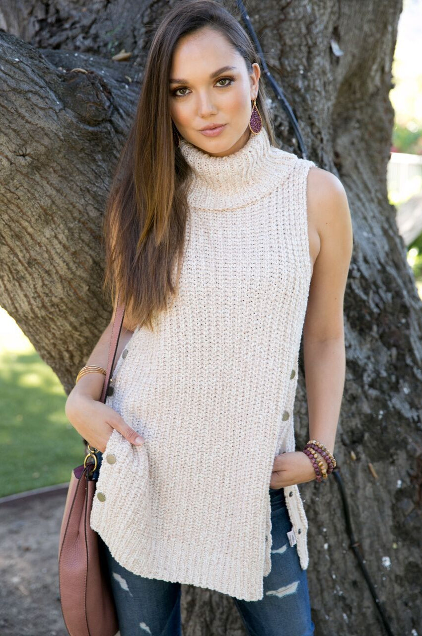 Free People Valentina Sweater In Blush