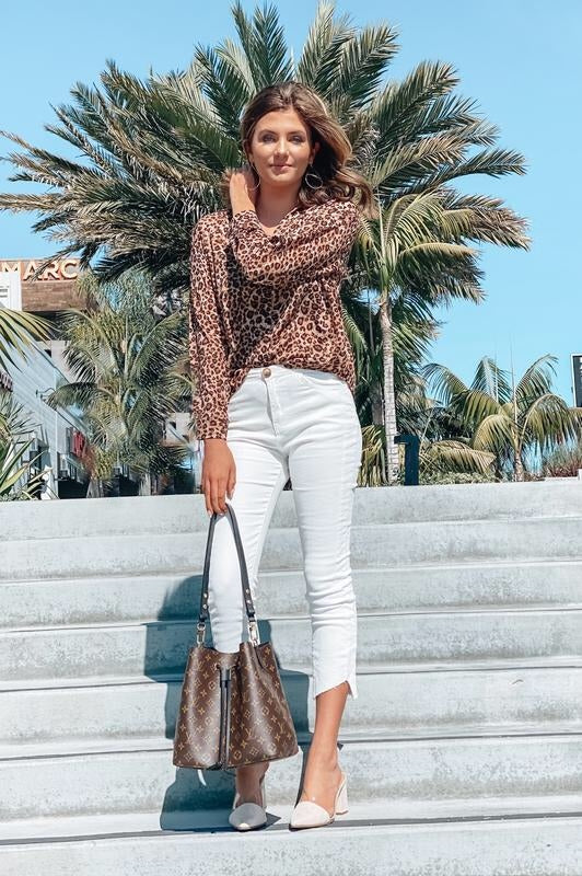 Pacific City Skinny Crop Pants Off White