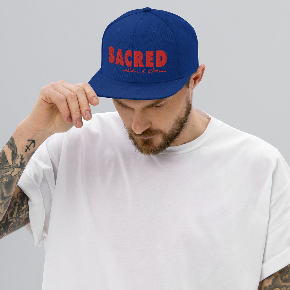 Sacred Collection- Snapback Hat