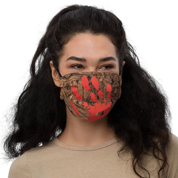 Red Power face mask