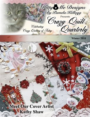 Crazy Quilt/Silk Ribbon Embroidery Box