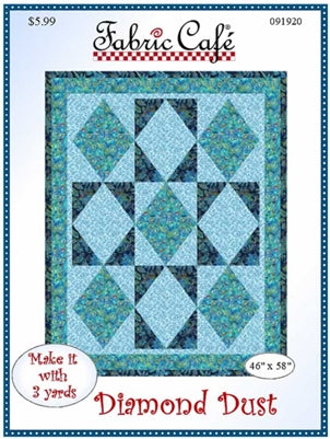 Diamond Dust 3 Yd Quilt Pattern