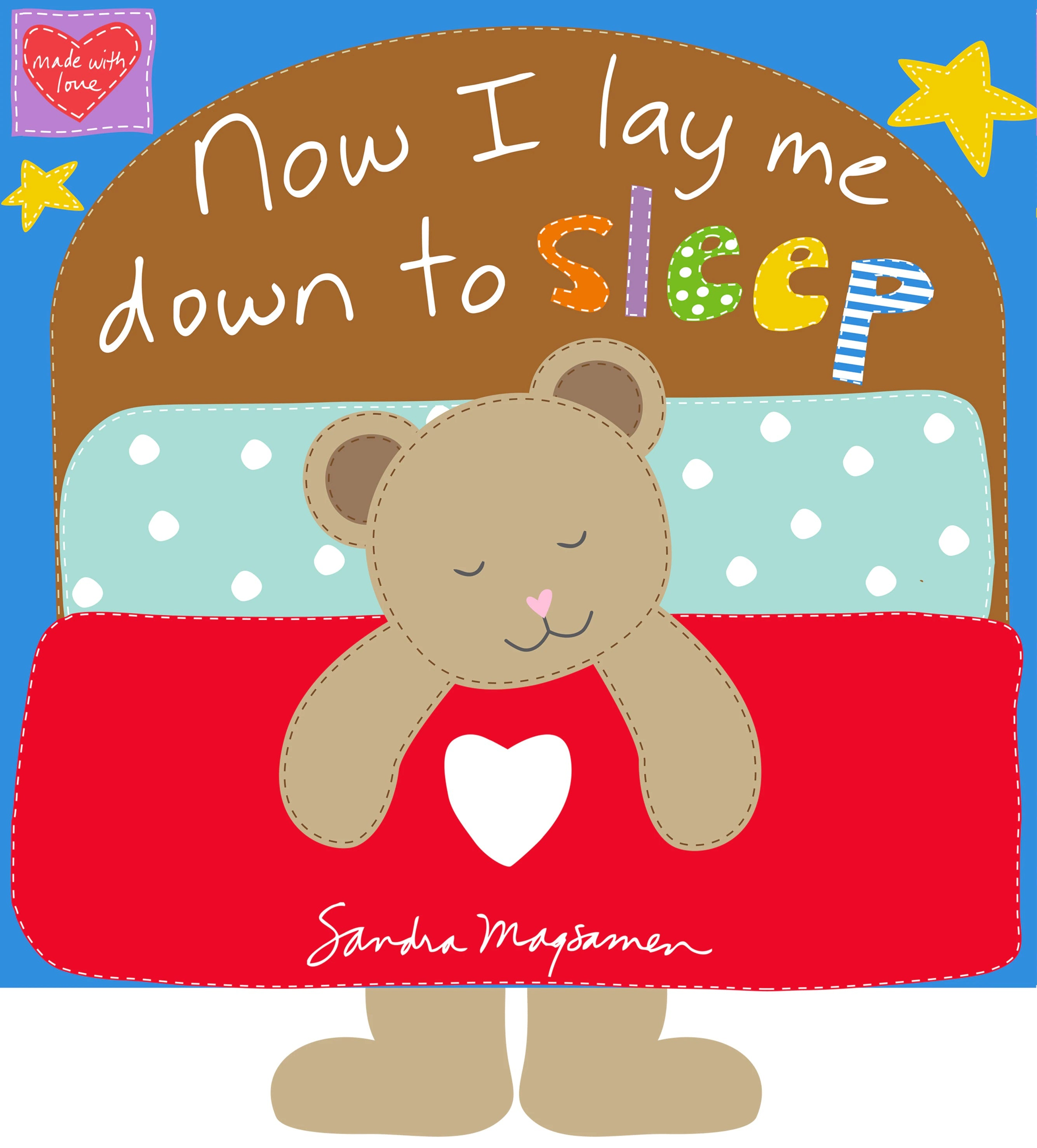 Now I Lay Me Down to Sleep Fabric Book