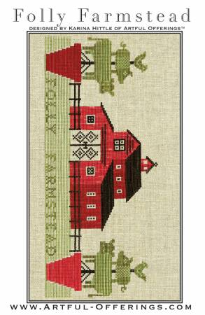 Folly Farmstead Cross Stitch
