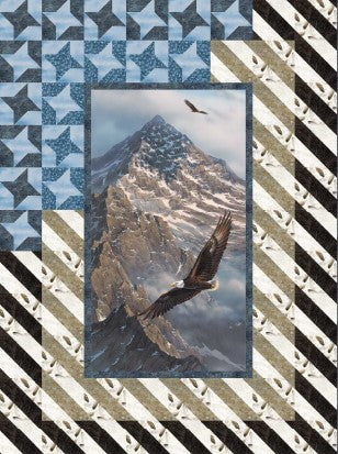 On Freedom's Wing Quilt Panel & Kit