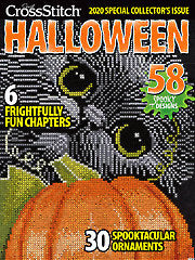 2020 Halloween Collector's Cross Stitch Magazines