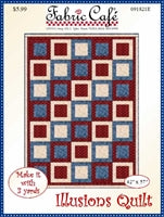 Illusions 3 yd Quilt Pattern