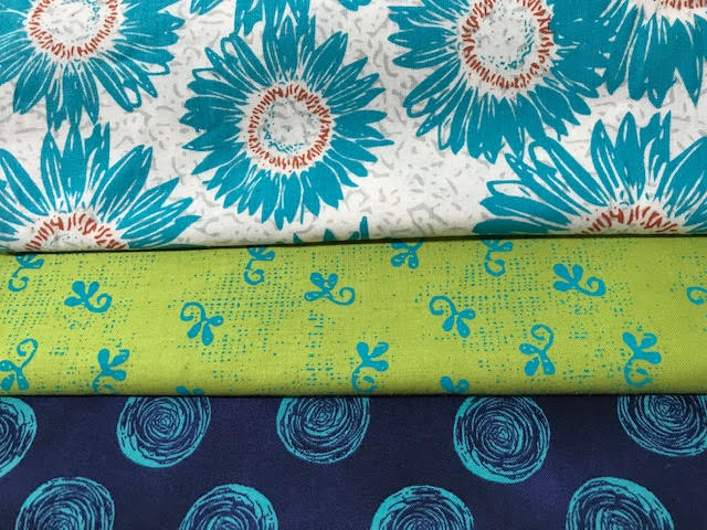 Contemporary Floral 3 Yd Medley
