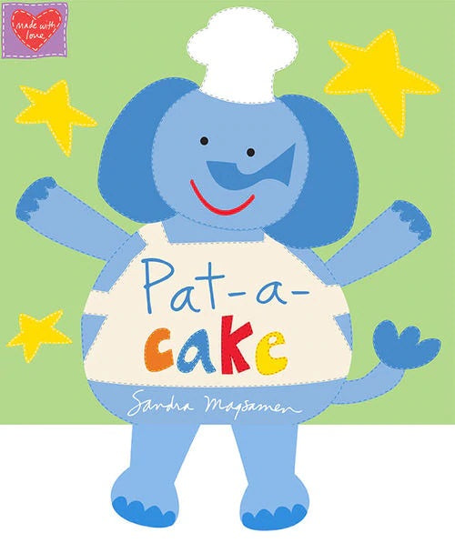 Pat-A-Cake Fabric Book