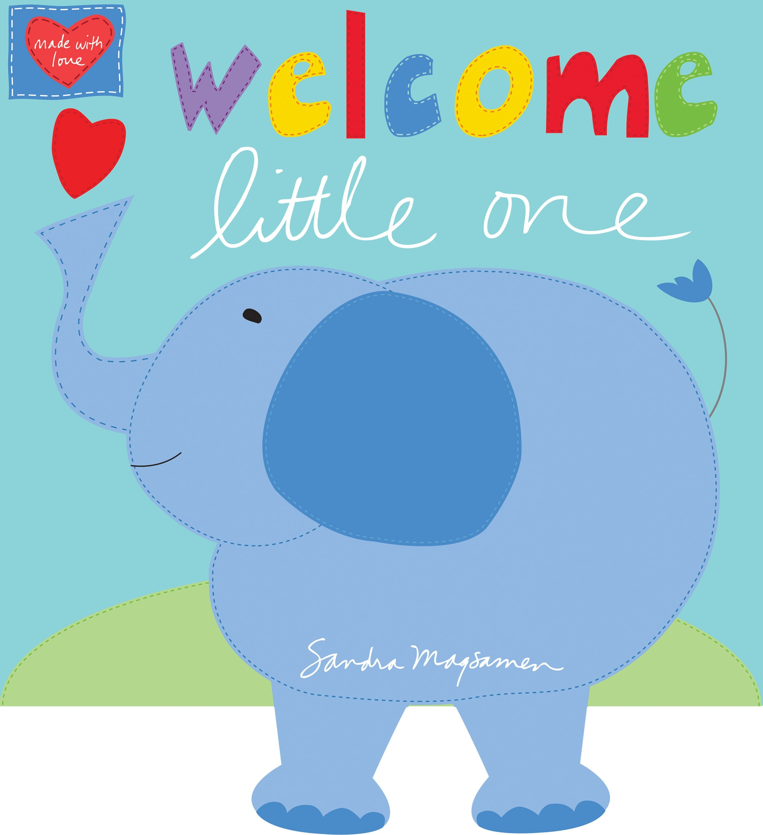 Welcome Little One Fabric Book