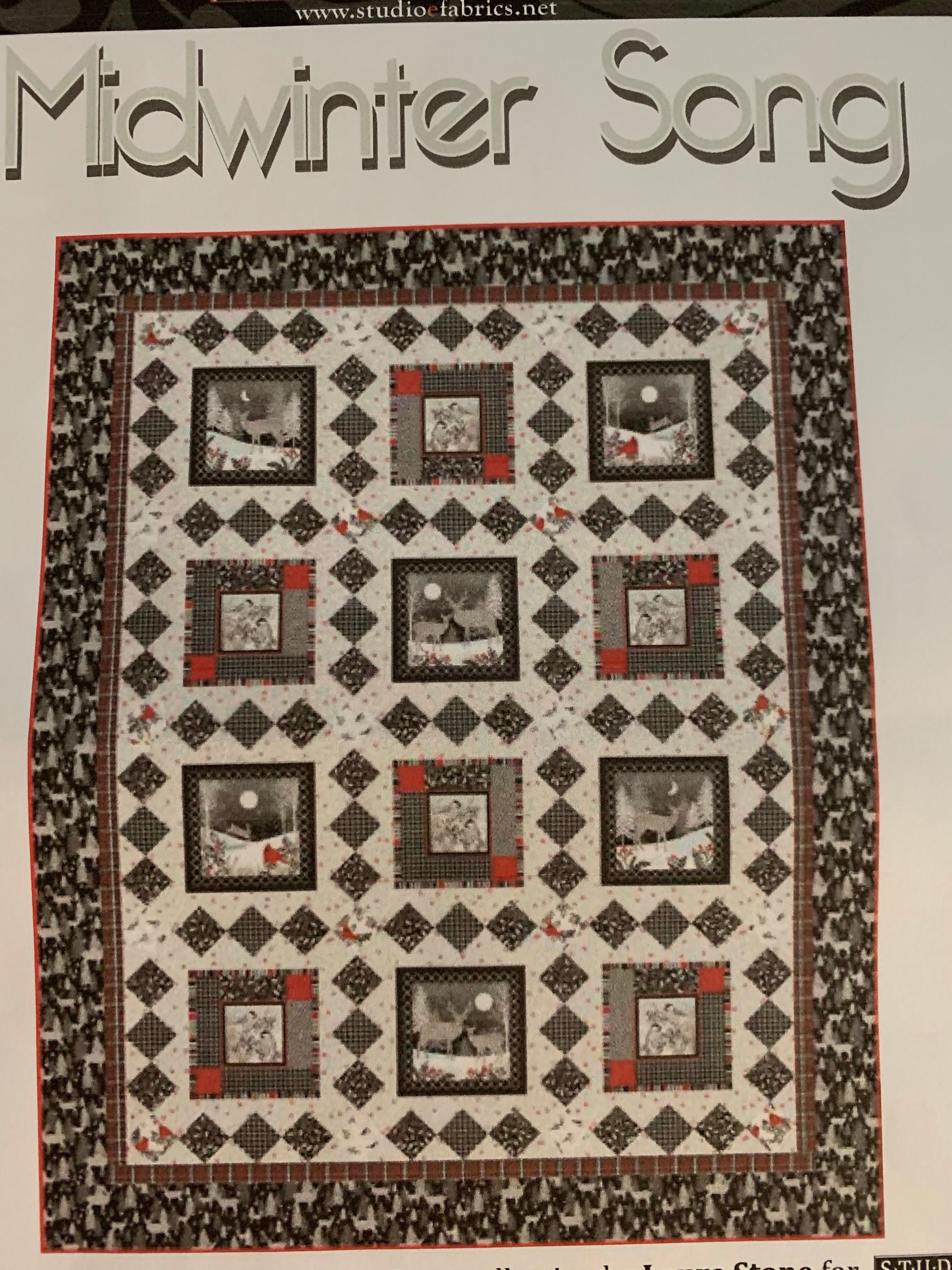 Midwinter Song, Quilt 1