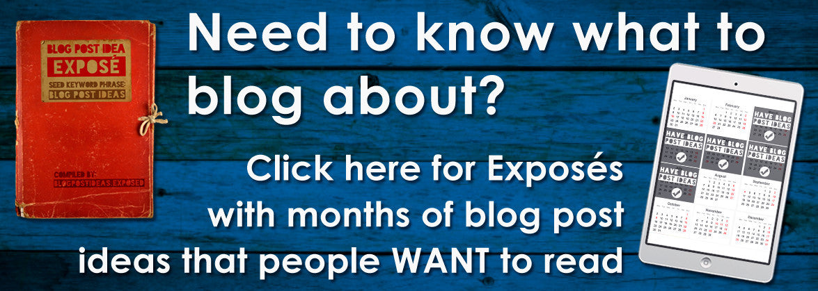 Blog Post Ideas Exposed