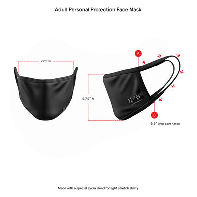 Grey Personal Protection Face Mask
