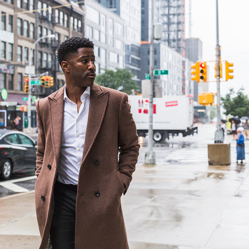 New York Nate Wool Coat