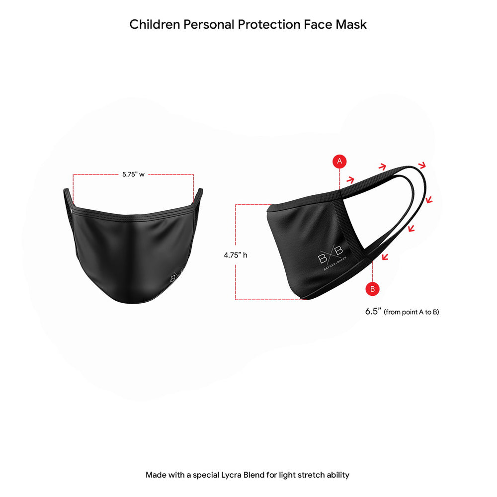 Red Personal Protection Face Mask