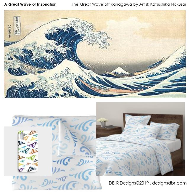 A Great Wave of Inspiration