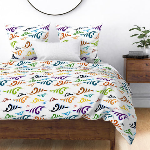 DB-R Designs Colored Wave Limited Edition - Duvet Cover