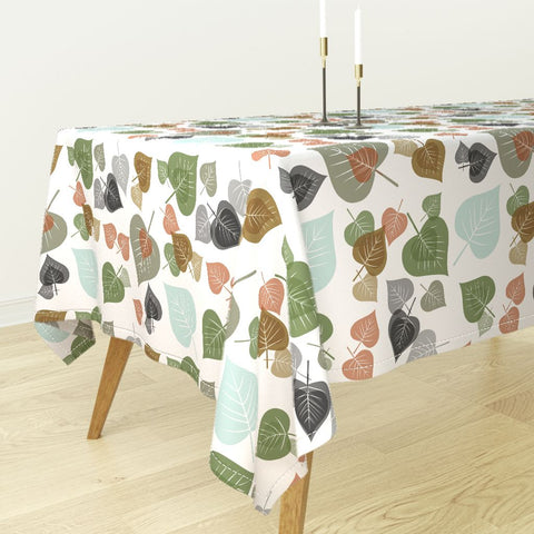 DB-R Designs Fall Leaves Collection - Square or Rectangular Table Cloth