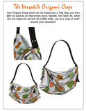 The Origami Crepe Tote/Scarf