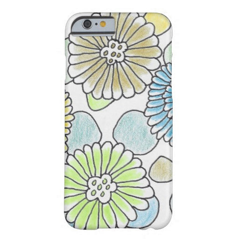 Florals & Circles Phone Case