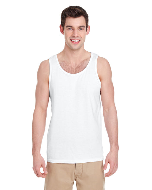 Direct To Garment (DTG) White Tank Top